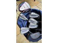 Complete Golf Set: Clubs + Bag + Trolley + Accessories