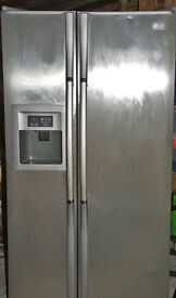 LG American style fridge freezer with ice/water dispenser