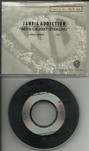 JANE-S-ADDICTION-Been-Caught-Stealing-PROMO-CD-single-Perry-Farrell-Dave-Navarro