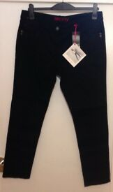 NEXT Black Skinny Jeans Size 16 Brand New With Tags