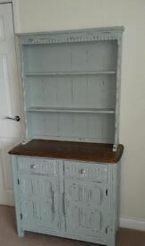 Antique shabby chic Welsh dresser