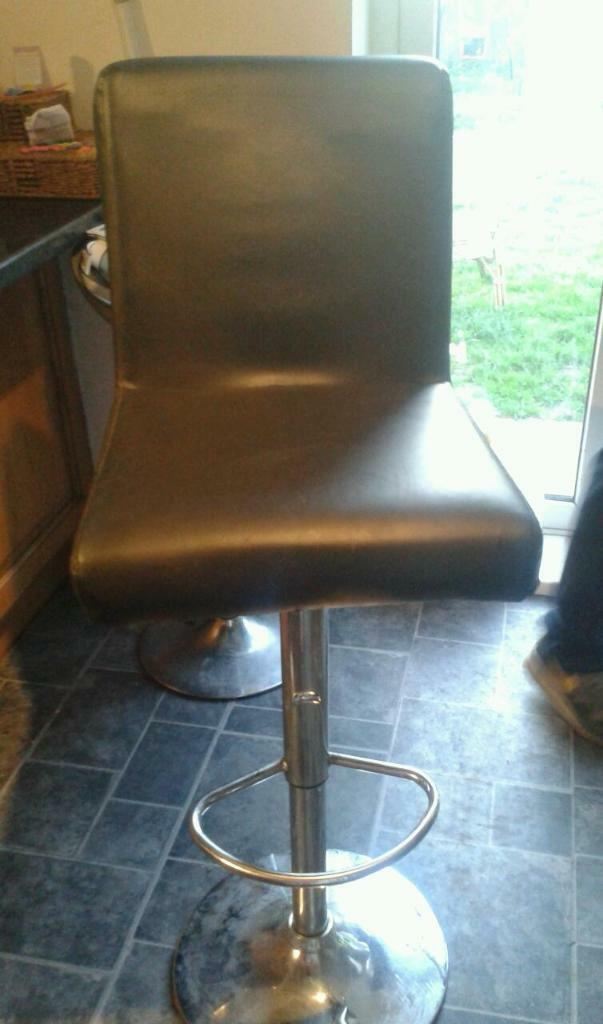 Leather bar stool | in Middlesbrough, North Yorkshire | Gumtree