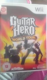 Guitar hero Wii game (no guitar)