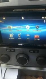 Sony xav-68bt double din dvd