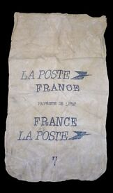 VINTAGE FRENCH POST BAG