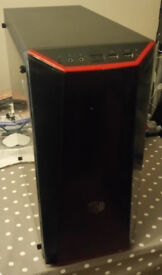Well Specced core i7 gaming PC full setup with extras.