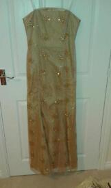 Golden Ball Dress