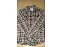 Mens checked size medium shirt