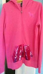 Victoria's Secret PINK hoodie with sequin pouch Kitchener / Waterloo Kitchener Area image 1