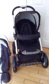 Musty. Joey black pushchair
