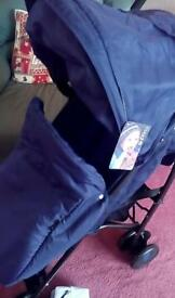 ÇuggL pushchair navy brand-new