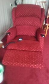 Raiser recliner chair