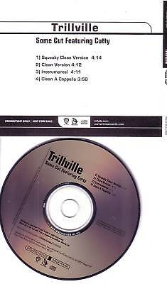 Trillville Some Cut Instrumental   Acapella Promo Dj Cd Single 2005 Usa