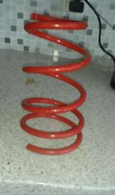 100mm lowering springs for corsa B C and D