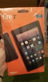 Fire 7 with alexa AMAZON tablet 8GB