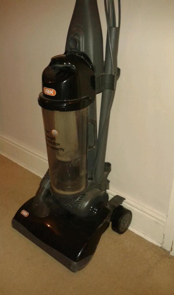 Vax 1600 W bag less upright vacuum cleaner hoover READ AD