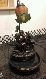 Widdop Bingham fountain water lamp lovers