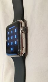 APPLE WATCH 42 mm Stainless Steel Série l