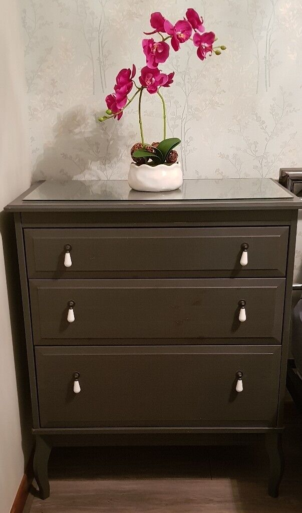 Ikea Edland 2 Chests Of Drawers Dressing Table
