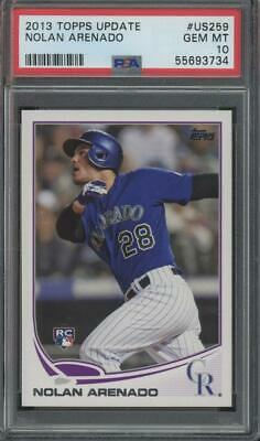 2013 Topps Update #US259 Nolan Arenado RC Rookie Gem Mint PSA 10