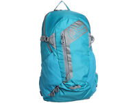 Lowe Alpine Strike 18 litre Rucksack / Daypack / Gymbag - Cyan Blue / Silver