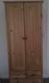 Children's Solid Wood Wardrobe