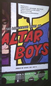 RARE DANGEROUS LIVES OF ALTAR BOYS 2002 POSTER JODIE FOSTER