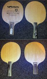 Table tennis professional wooden bats