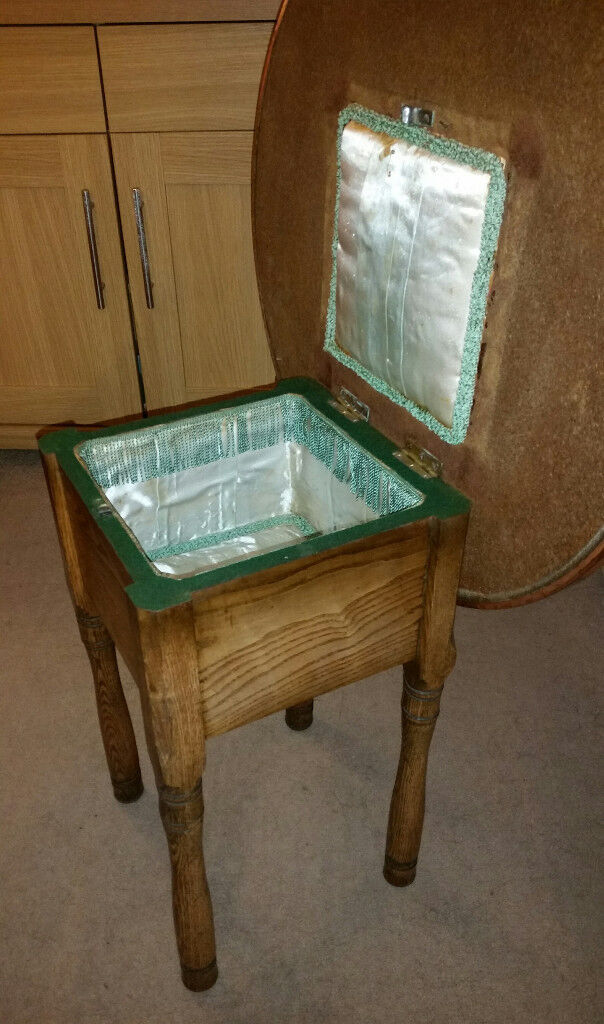 Vintage Hammered Copper Coffee Table With Storage Compartment In Leeds West Yorkshire Gumtree