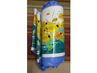 Retro Fish Sea/Ocean/Design/ Motif Childrens Paddling Pool/ Water BlueTurquoise Green Yellow White