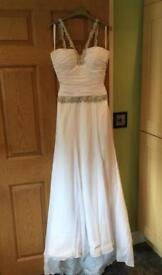 Christina Rossi Wedding Dress Size 10