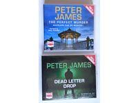 Peter James cd audio books.
