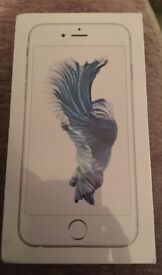 iPhone 6s silver 32 gb brand new in box
