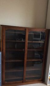 Cd and dvd storage big size with sliding doors