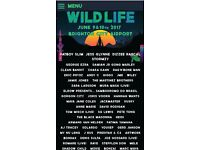 Wildlife festival day ticket 9th June 2017