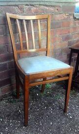 Vintage Wood Chair VGC