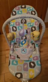 Mothercare Vibrating Baby Bouncer Seat