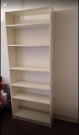 Ikea Billy white shelves / bookcase
