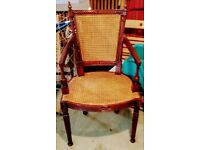 Rattan Carver Chair