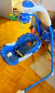 FISHER PRICE CRADLE SWING BABY SOOTHER Like new in box Oakville 905 510-8720 $40 obo