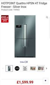 Double fridge hotpoint