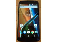Motorola Moto G4 16Gb mid-2016 unlocked mobile, immaculate condition - professionally CHECKED