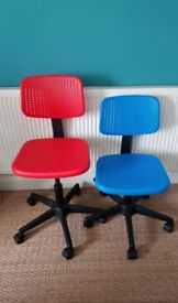 Kids PC Chairs (Ikea) - 2 Available