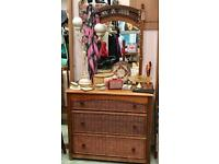 Medoc Collection Chest Of Drawers with Mirror