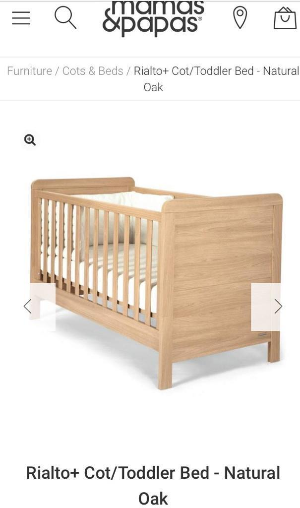Sturdy Mamas Papas Rialto Cot Cotbed In County Antrim Gumtree