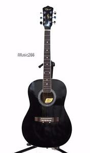 Acoustic Guitars Black Selection for beginners iMusicGuitar