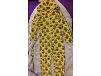 Despicable Me onesie 7 - 8 yrs boys / girls