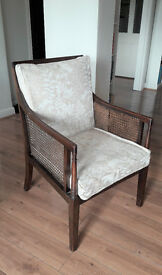 Bergere Mahogany Chair