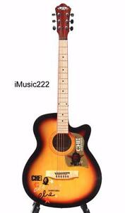 Acoustic Guitar for beginners students Natural 40 inch iMusic222