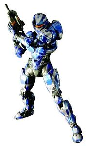 NEW-HALO-4-SPARTAN-WARRIOR-BLUE-PLAY-ARTS-KAI-ACTION-FIGURE